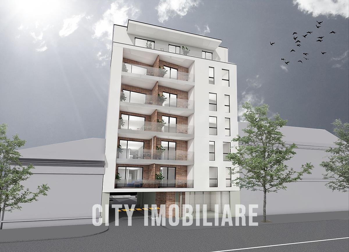 Penthouse 3 camere cu 2 bai, S82 mp+ terasa, bloc nou, Semicentral