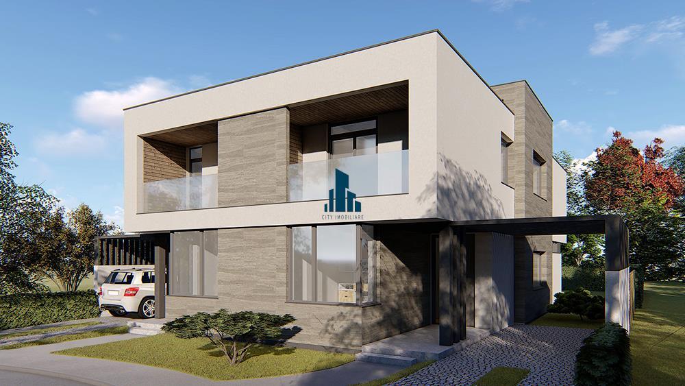 Casa tip Duplex categoria LUX, 5 camere, S140 mp, teren 275 mp, Zorilor