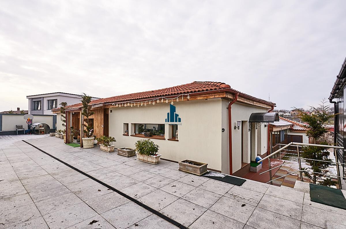 Casa LUX, S383 mp, teren 1022 mp., zona linistita, Feleacu