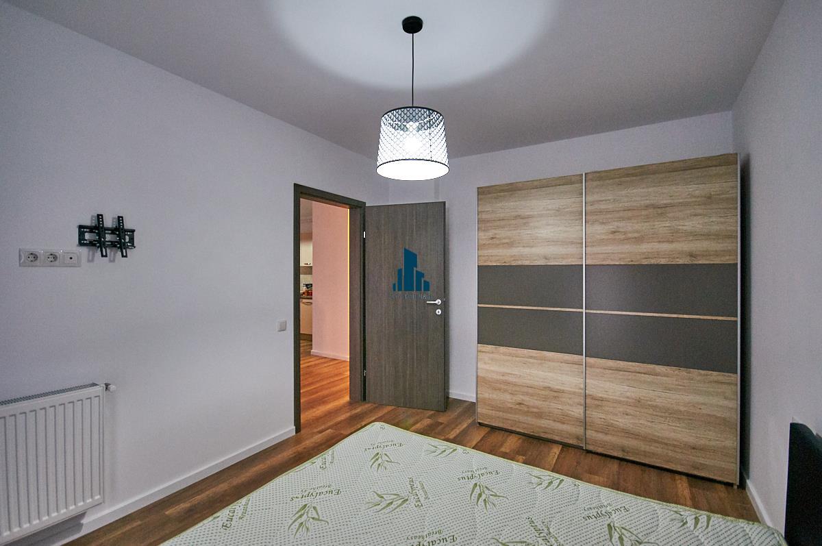 Apartament 2 camere, 47 mp + balcon, Mobilat si utilat, bloc nou 2019, Buna Ziua