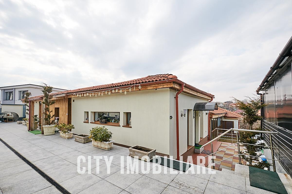 Casa LUX, S383 mp, teren 1022 mp., Feleacu.