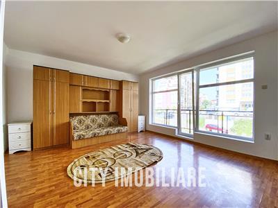 Apartament 1 camera, S-36mp + 5 mp. terasa, bloc nou, Baciu