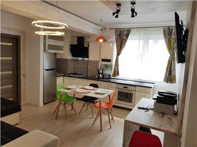 Apartament 2 camere, decomandat, mobilat, utilat, Intre Lacuri