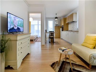 Apartament 2 camere, semidecomandat, mobilat, str.Teodor Mihali