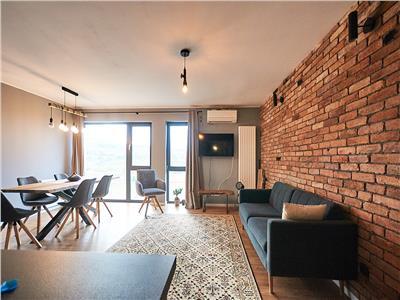 Apartament 3 camere Lux, S-81 mp., parcare, str. Borhanciului