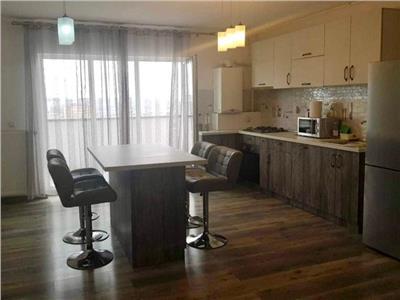Apartament 2 camere, semidecomandat, mobilat, Europa.