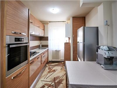 Apartament 3 camere, 68 mp + balcon, mobilat si utilat, 2/4, linga Politia Rutiera, Gheorgheni