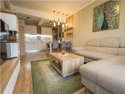 Apartament 2 camere, LUX, S-54 mp.+ balcon 4mp., Borhanci