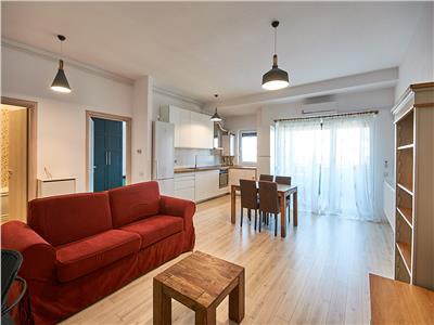 Apartament 2 camere, S-55 mp+17 mp. terasa, bloc nou Buna Ziua