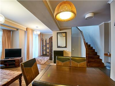 Apartament Penthouse LUX 3 camere, S-101 mp + 8 terasa, str. Dorobantilor