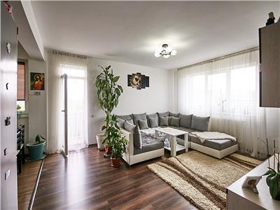 Apartament cu 3 camere, S-66mp+ 9mp balcon, et 4/5, zona Tineretului.