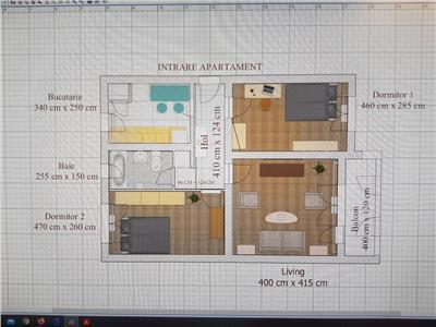 Apartament 3 camere, Su-59, Parter, Gheorgheni
