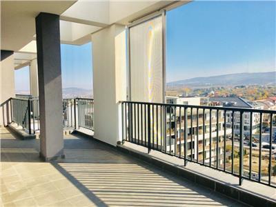 Apartament 2 camere penthouse cu super view, in bloc nou, cu CF