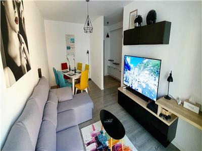 Apartament 2 camere, LUX, bloc nou, decomandat, Intre Lacuri.