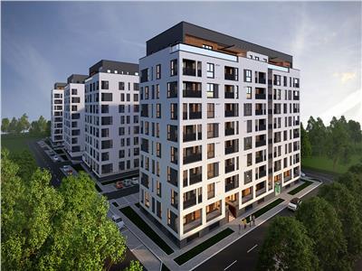 Apartament 2 camere, 63 mp, Bloc Nou, zona Vivo