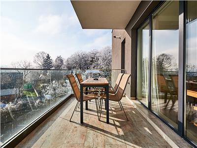 Apartament 3 camere LUX, S-100 mp+12 terasa, 2 bai, Grigorescu