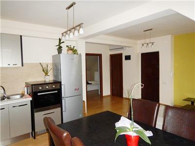 Apartament 3 camere, 74mp, 2 bai, complet mobilat si utilat, Buna Ziua