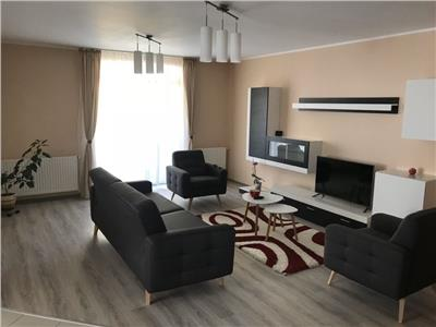 Apartament 3 camere cu 2 bai, 84 mp + 14 mp balcon, mobilat, utilat, 1/4, Buna Ziua