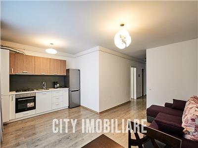 Apartament 2 camere, S-46 mp+ balcon, mobilat utilat, bloc nou