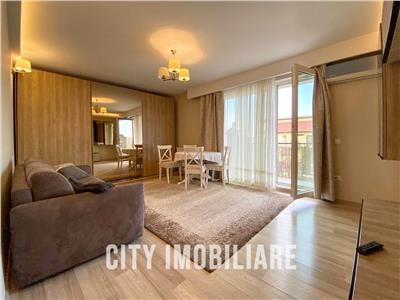 Apartament 2 camere Lux, S-55mp + 6mp balcon+ parcare, Buna Ziua