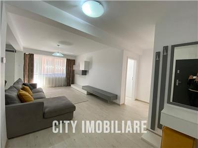 Apartament 2 camere, S 64 mp, bloc nou, mobilat, zona Centrala.