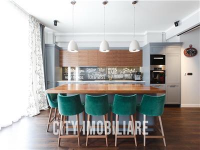 Penthouse Lux 3 camere, S93mp + 80mp terasa, zona Centrala