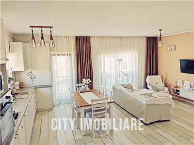 Apartament 3 camere, Lux, mobilat, utilat, parcare, Borhanci.