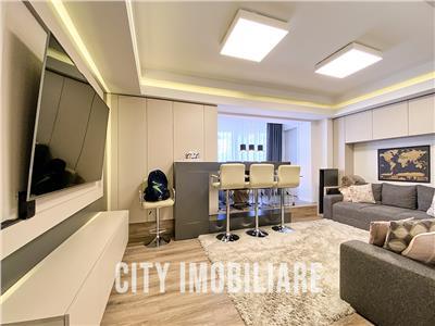 Apartament 3 camere Lux, cu 2 bai, S-94mp., decomandat, Marasti