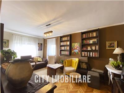 Apartament 4 camere, S79 mp +balcon, ultrafinisat, et 9/10, Manastur.