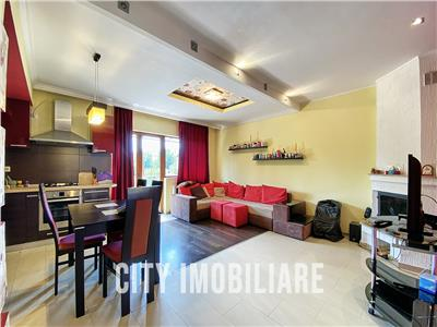 Apartament 3 camere, S-101mp. +2 balcoane + parcare, bloc nou