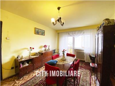 Apartament 3 camere decomandat, S65 mp+7mp balcon. Marasti